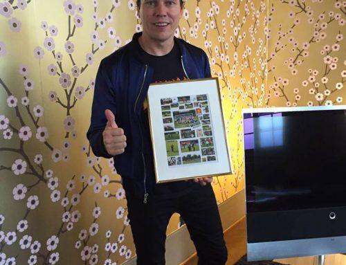 S.A.B. krijgt donatie van € 10.000,- van DJ Tiësto